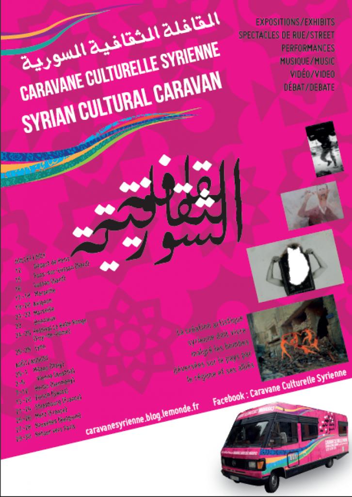 Affiche Caravane Syrienne2014-3