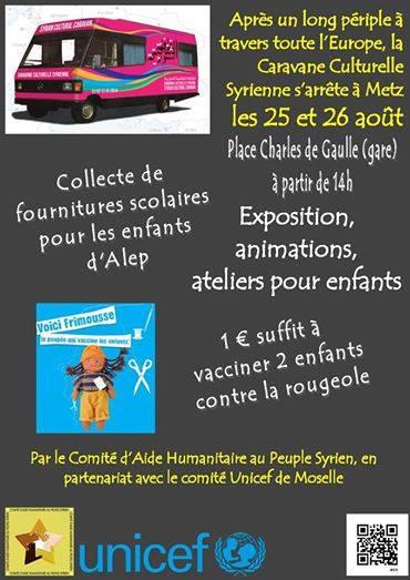 25 et 26 Aout 2014 Metz : Exposition, animations et ateliers pour les enfants