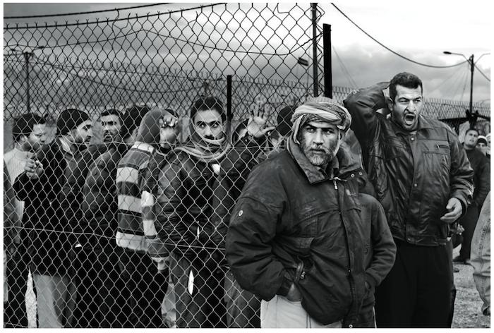 Un campement de réfugiés syriens sous la neige Akkar, Liban, janvier 2013