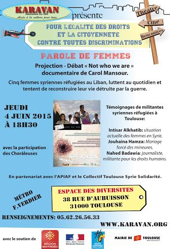 affiche paroles de femmes_4 juin 2015