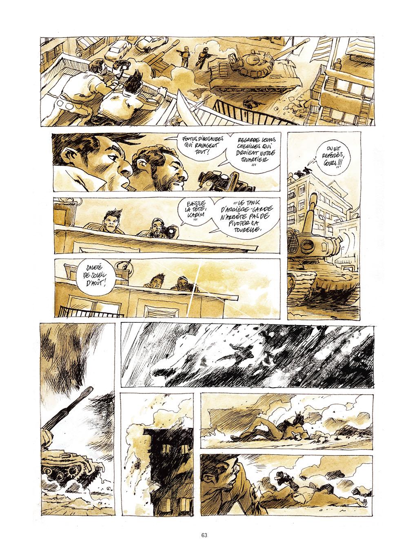 Extrait de « La Dame de Damas », de Jean-Pierre Filiu et Cyrille Pomès, éd. Futuropolis, août 2015