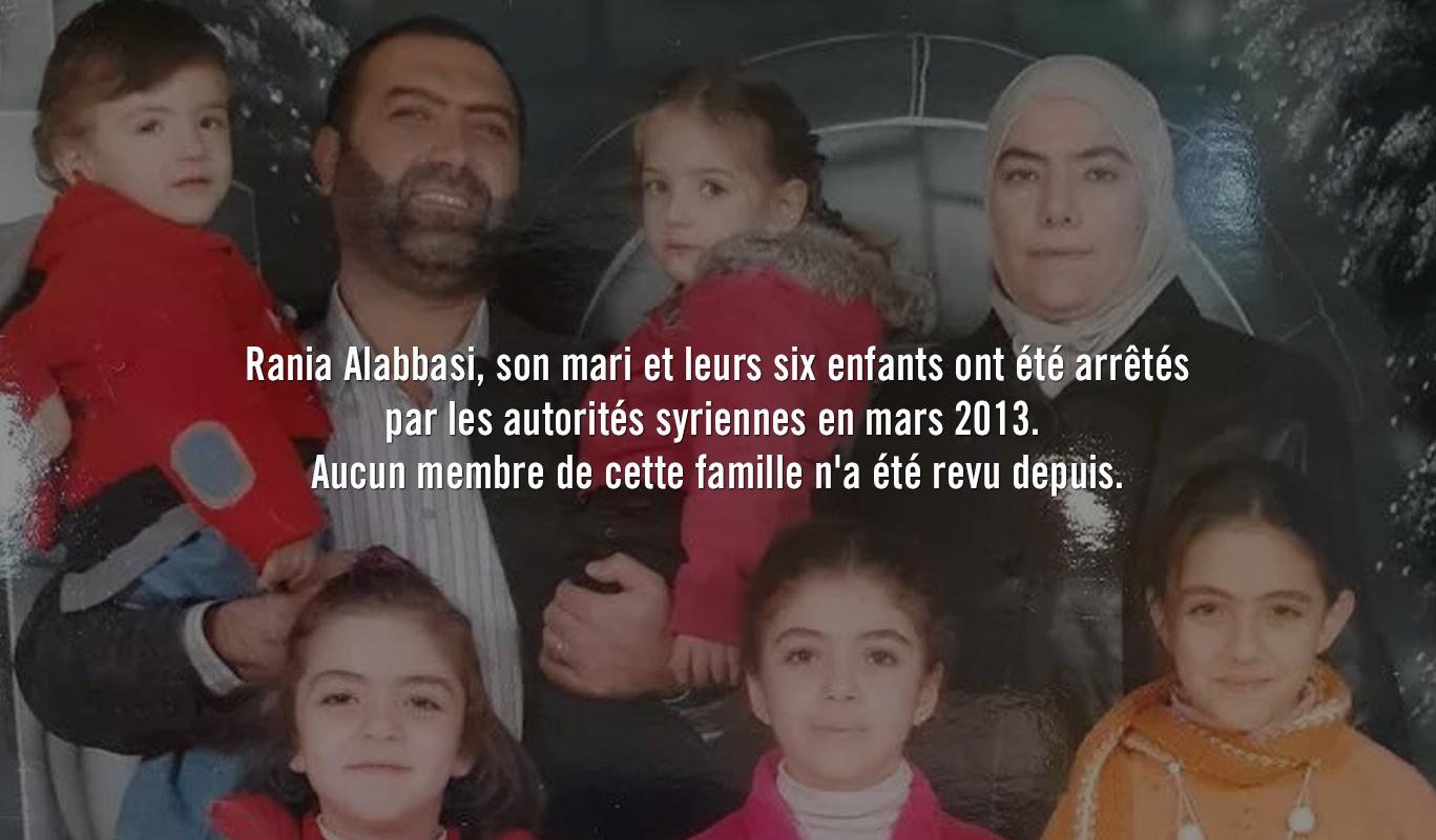 La famille de Rania portée disparue