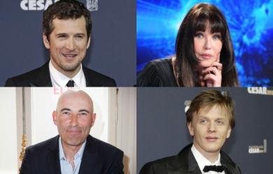 Alex Lutz, Guillaume Canet, Nicolas Canteloup et Isabelle Adjani
