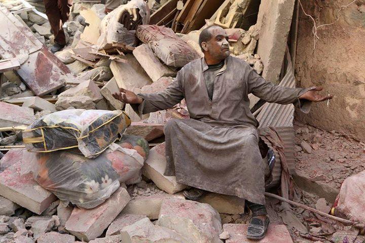 Die Fassbomdenangriffe des Assad-Regimes zerstören jeden Lebensraum. Die Ratlosigkeit der Einwohner in Aleppo wird immer größer.