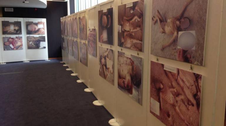 Quelques uns des clichés de césar ont été exposés, entre aurtes au Parlement européen à Bruxelles.