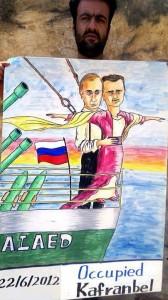 Putin assad titanic