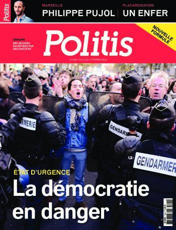 Couverture de l'Hebdo Politis N°1390