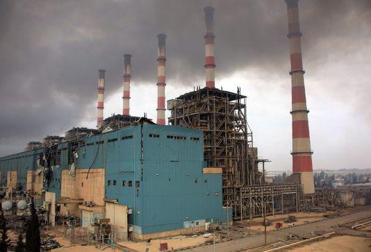 La centrale électrique d'Alep, reprise cette semaine à l'Etat islamique par les forces du régime.