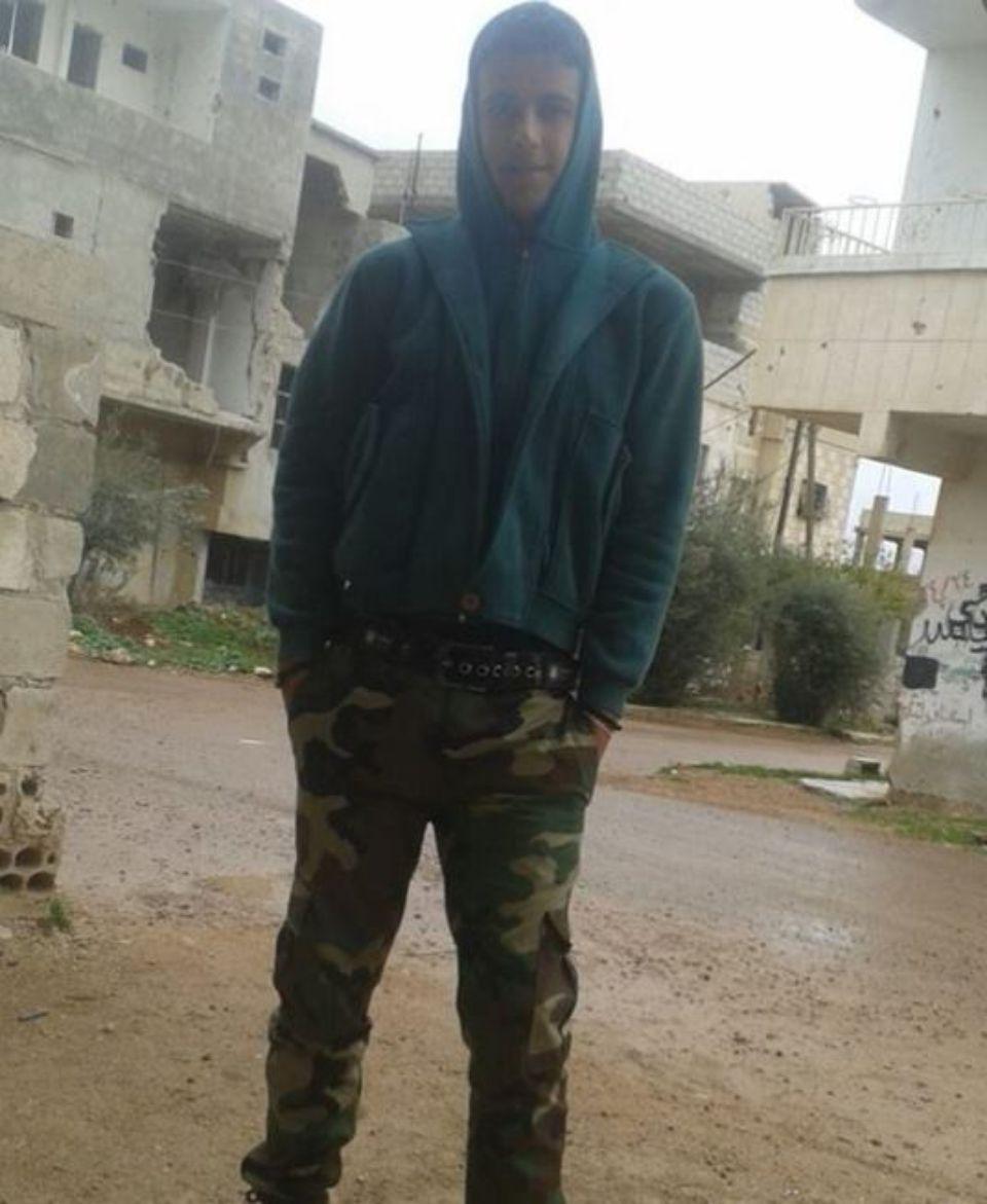Moawyah Sayasneh, adolescent torturé pour avoir tagué le premier slogan anti-Assad.