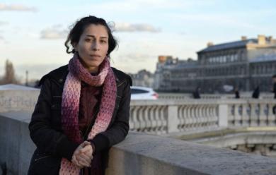 Mariam Hayed, rescapée du régime de Bachar El-Assad.