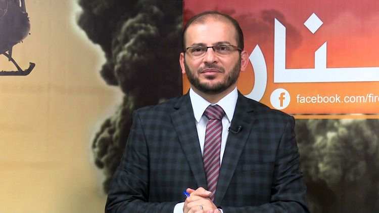 FILE - In this April 4, 2016 file photo, Syrian journalist Mohammed Zahir al-Sherqat is seen on Halab Today TV studio in Gaziantep, Turkey. A Syrian journalist who was shot in the Turkish city of Gaziantep in an attack claimed by the Islamic State group died from his wounds Tuesday, April 12, 2016 a close friend said. The death of Halab Today TV presenter Mohammed Zahir al-Sherqat marks the fourth assassination of a Syrian journalist in Turkey claimed by the extremist group. Friends told the AP that the jou