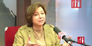 Bassma Kodmani, membre de l'équipe de négociation de l'opposition syrienne