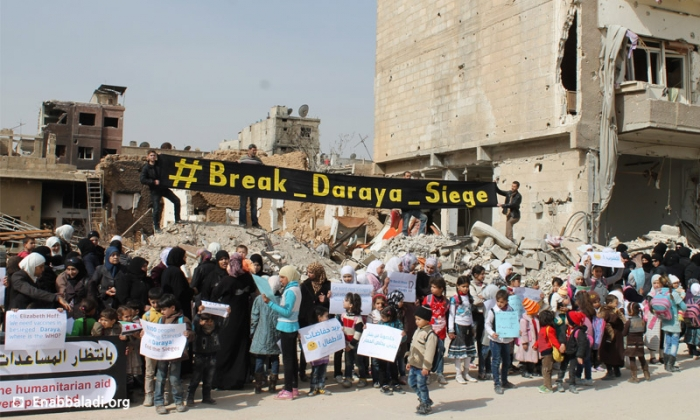 Women of Daraya Demand Immediate End to Siege Before Famine Begins