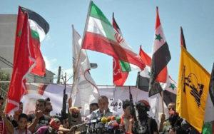 من مهرجان للجبهة الشعبية لتحرير فلسطين في غزّة. أيلول 2014