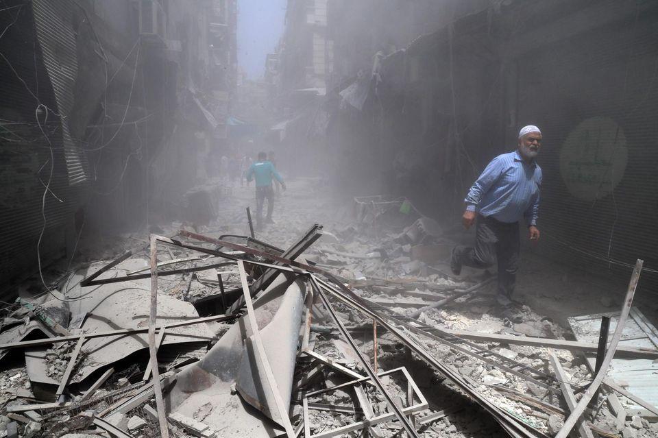 A Alep, le 5 juin.