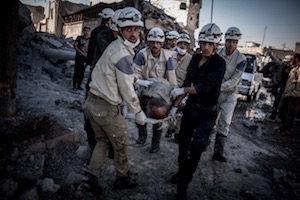 """Drohende Katastrophe in Aleppo: """"Schämt euch!"""""""