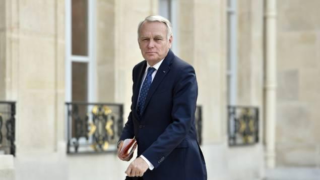"""Le ministre a évoqué la situation en Syrie et a Alep et s'est dit \\""""très inquiet\\"""" © AFP / GUILLAUME SOUVANT"""