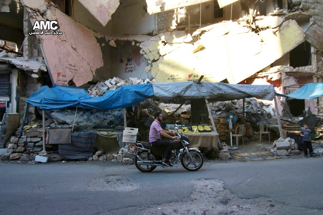 Mideast syria surviving in aleppo1