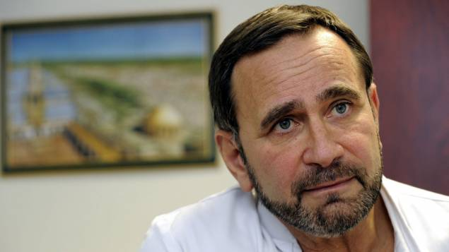 Le docteur Raphaël Pitti veut alerter sur la situation médicale en Syrie alors que trois hôpitaux et une maternité ont été visés la semaine dernière © Maxppp