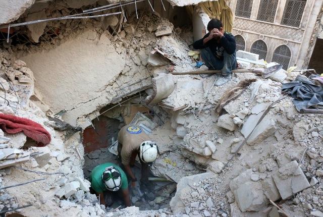 Syria conflict aleppo1