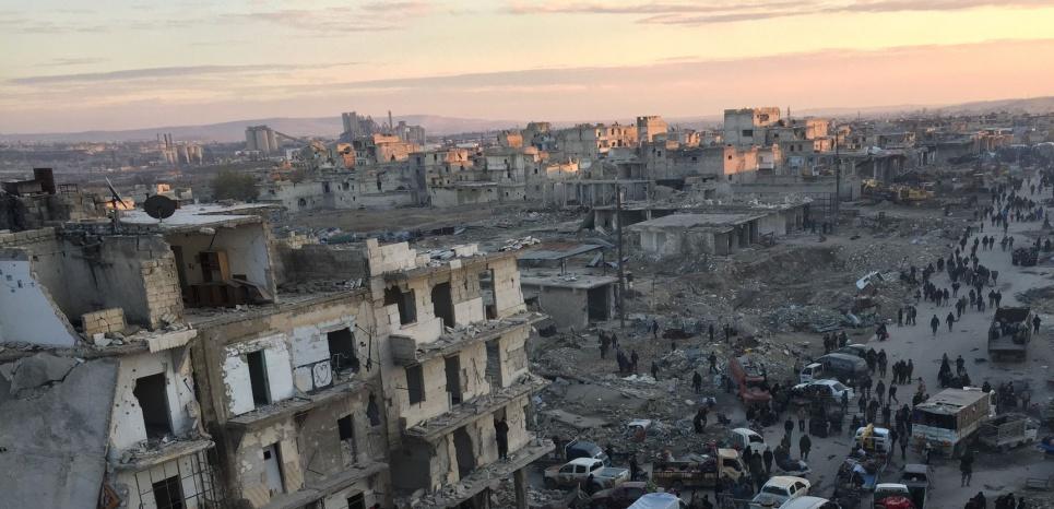 """""""La honte qui pèse sur nous se nomme Alep"""""""
