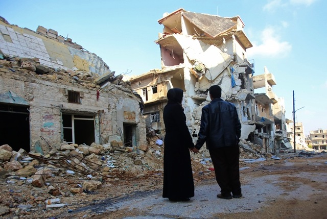 Syria conflict aleppo return1