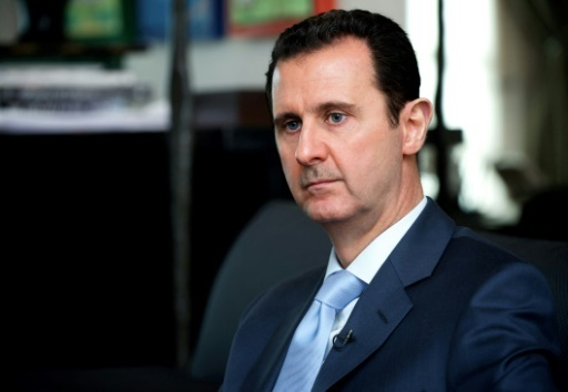 Le président syrien Bashar al-Assad à Damas, le 15 janvier 2015