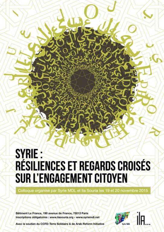 colloque Syrie MDL & Ila Souria