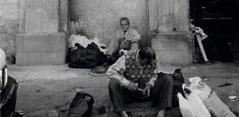 On view is: Ausschnitt aus Mohamad Al Roumi: Arc de pauvrete, Damaskus 2008