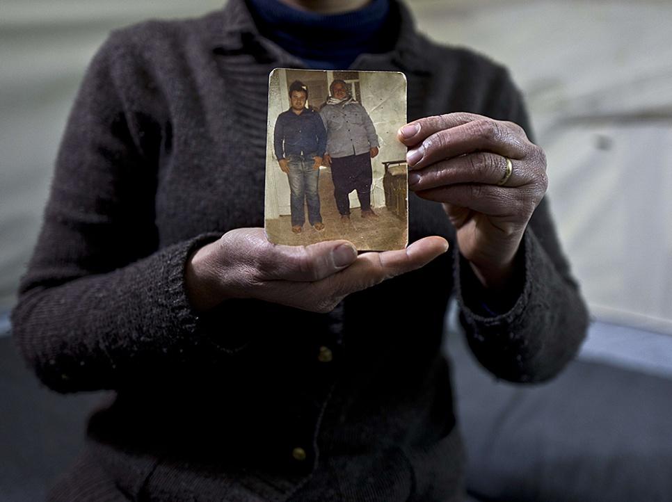 Le mari et le beau-père de Habiba