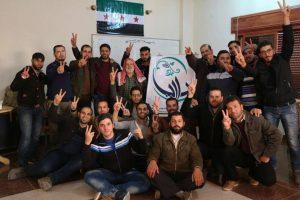 Des membres du Conseil local de Daraya