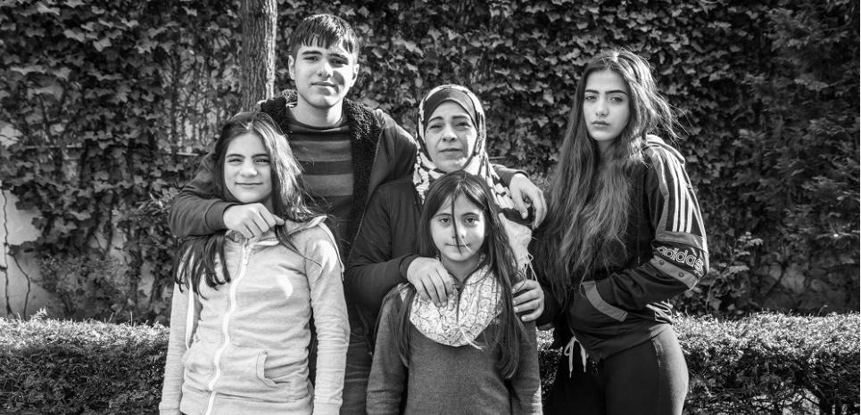 """""""On est là parce qu'on ne veut pas mourir"""" : le poignant exil d'une famille syrienne"""
