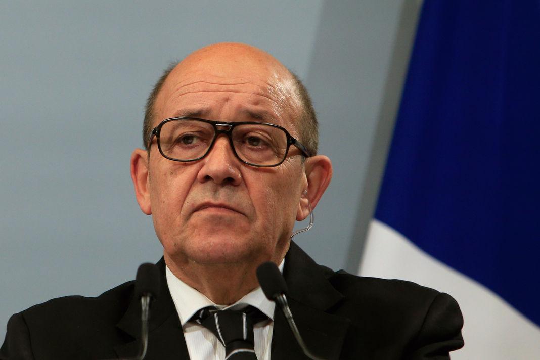 Jean-Yves Le Drian, le 20janvier 2016 à Paris.