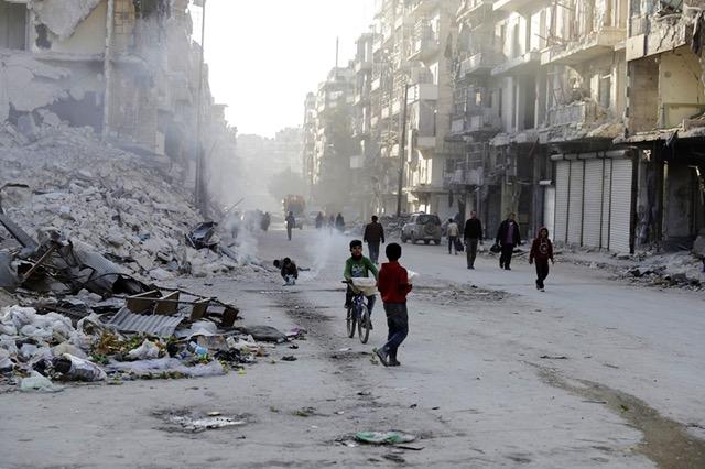 Syria conflict aleppo aftermath