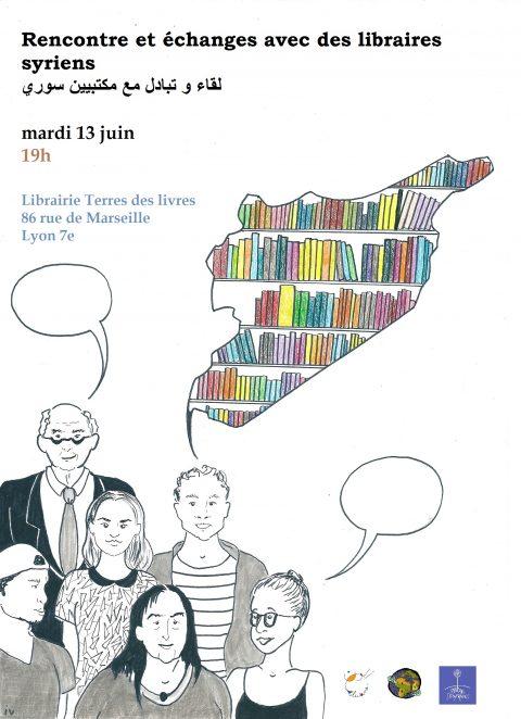 Rencontre avec des libraires syriens