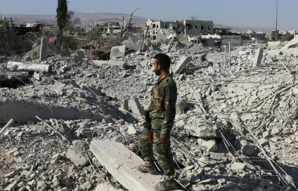 Syria Has Effectively Ceased to Exist