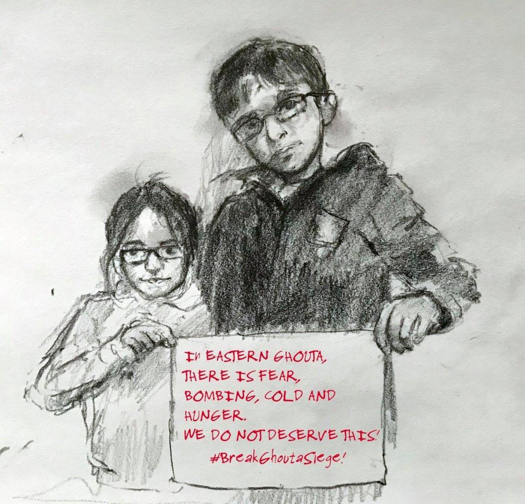 Appel aux dons : Aidons les familles de la Ghouta